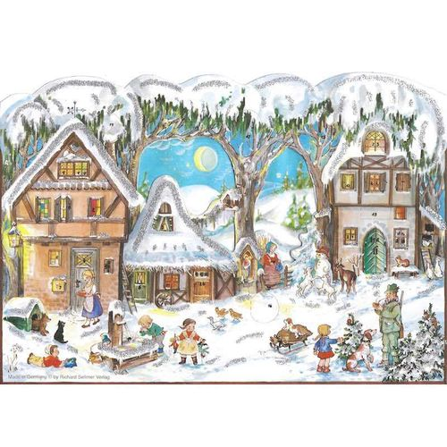 Adventskalender Im Winter