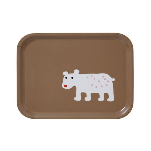 Bear Brown Small Tray