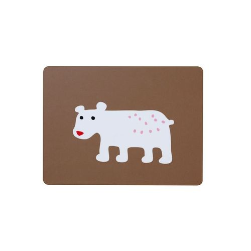 Bear Brown Sandwich Coaster