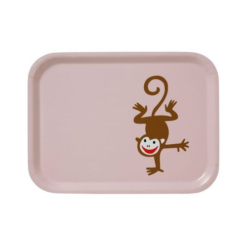 Monkey Pink Small Tray
