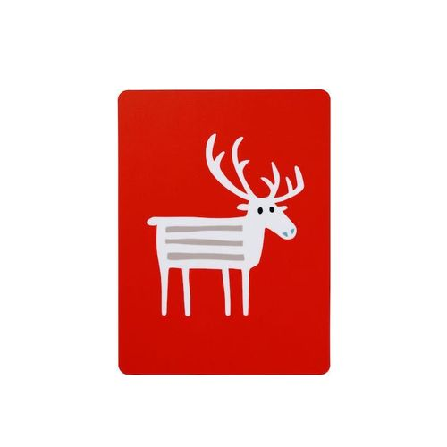 Reindeer Red Sandwich Coaster