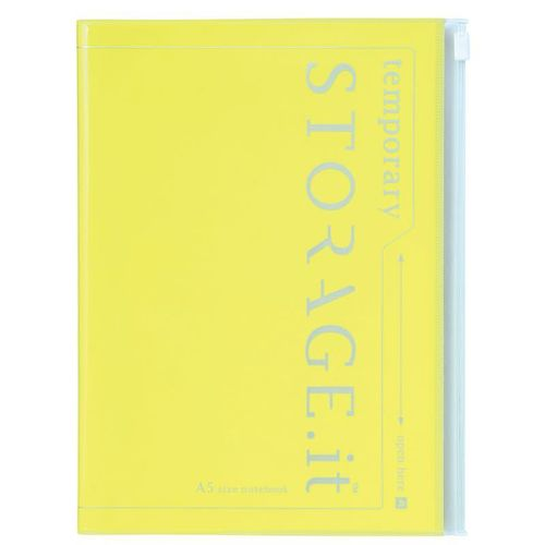 STORAGE.it Notebook A5, Neon Yellow