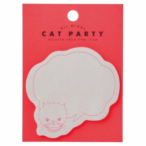 Sticky Notes, Cat Pink