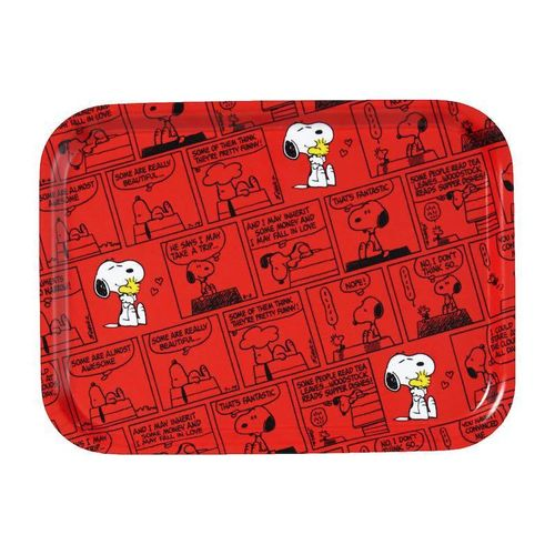Snoopy red small tray